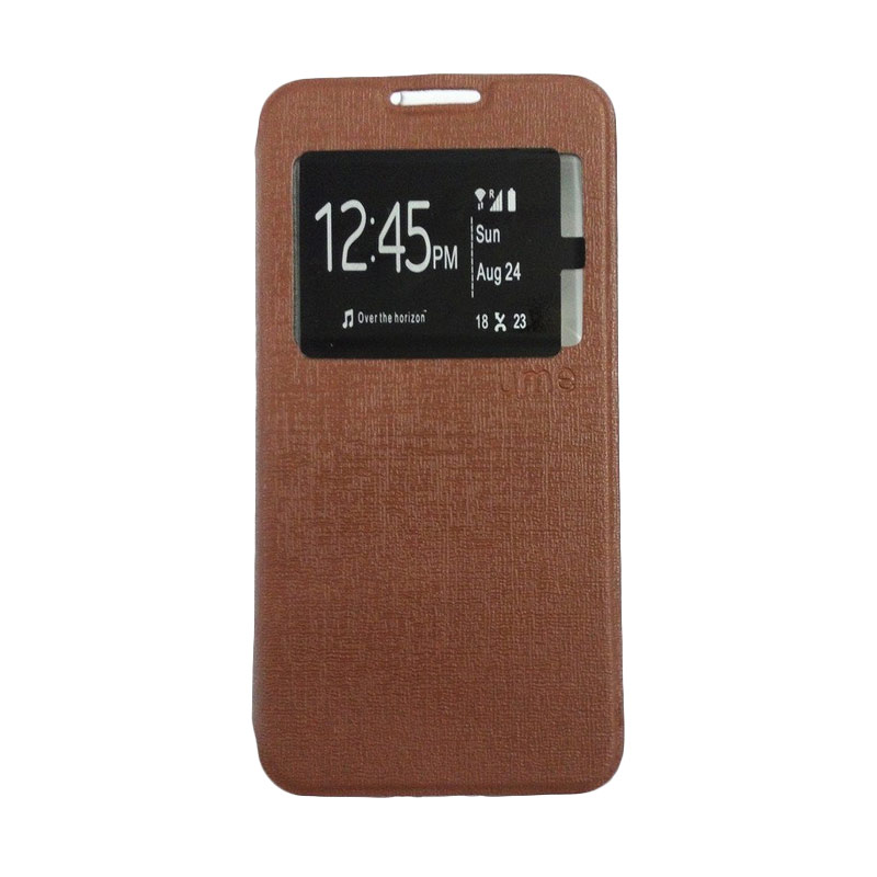 harga Ume Brown Flip Cover Casing for Xiaomi Redmi MI 4i Blibli.com
