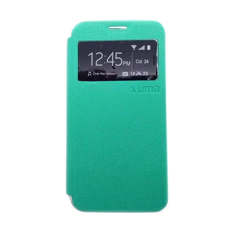 Jual Ume Enigma Hijau Flip Cover Casing For Asus Zenfone 5
