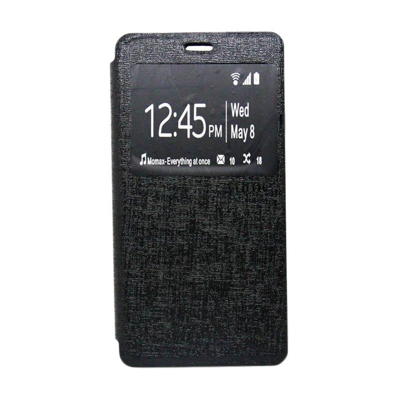 Jual Ume Enigma Flip Cover Casing for Xiaomi Redmi 2S - Hitam Online - Harga & Kualitas Terjamin | Blibli.com