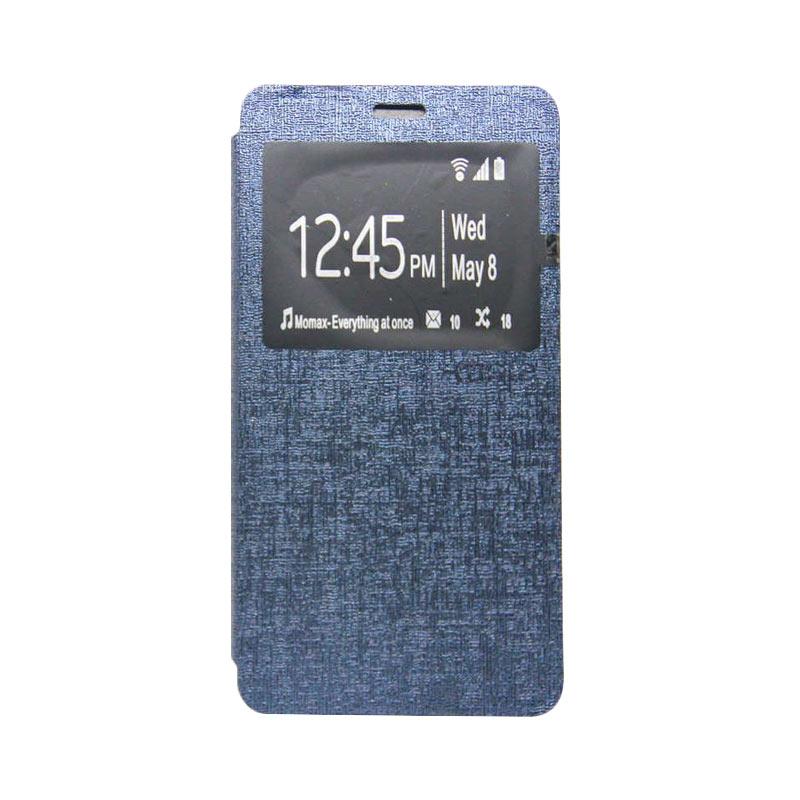 Ume Flip Cover Casing for Asus Zenfone 2 5 inch - Biru