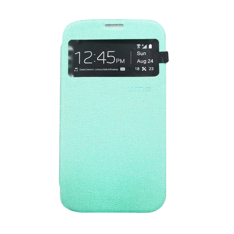 Ume Flip Cover Casing for Asus Zenfone 2 5 inch - Hijau