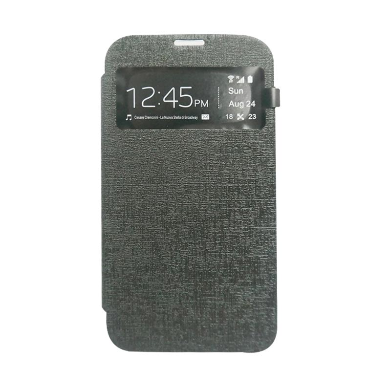 Ume Flip Cover Casing for Asus Zenfone 2 5 inch - Hitam