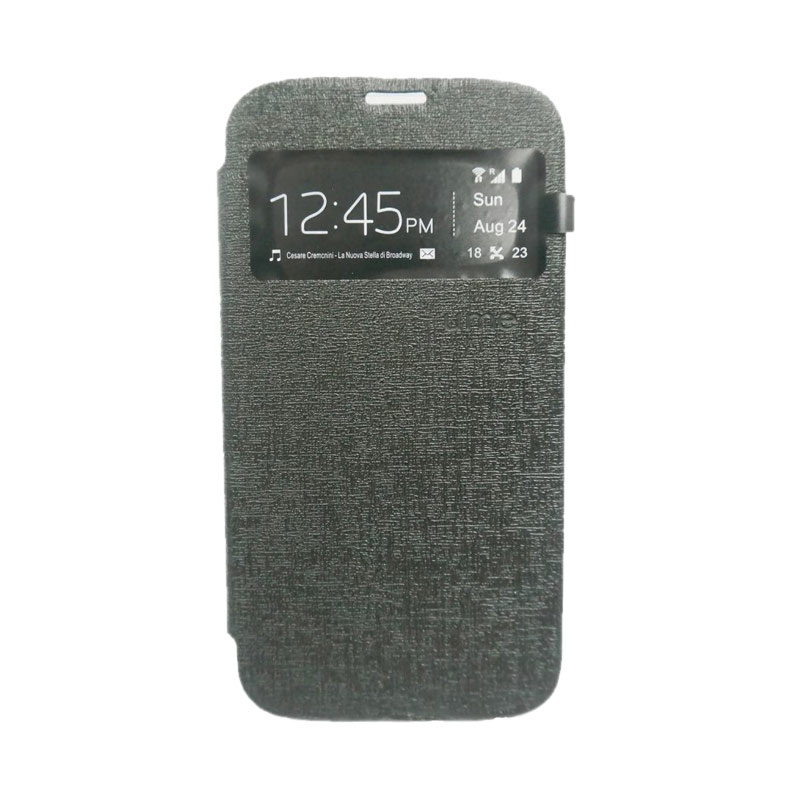 Ume Flipcover Casing for Asus Zenfone 2 [5 Inch] - Hitam