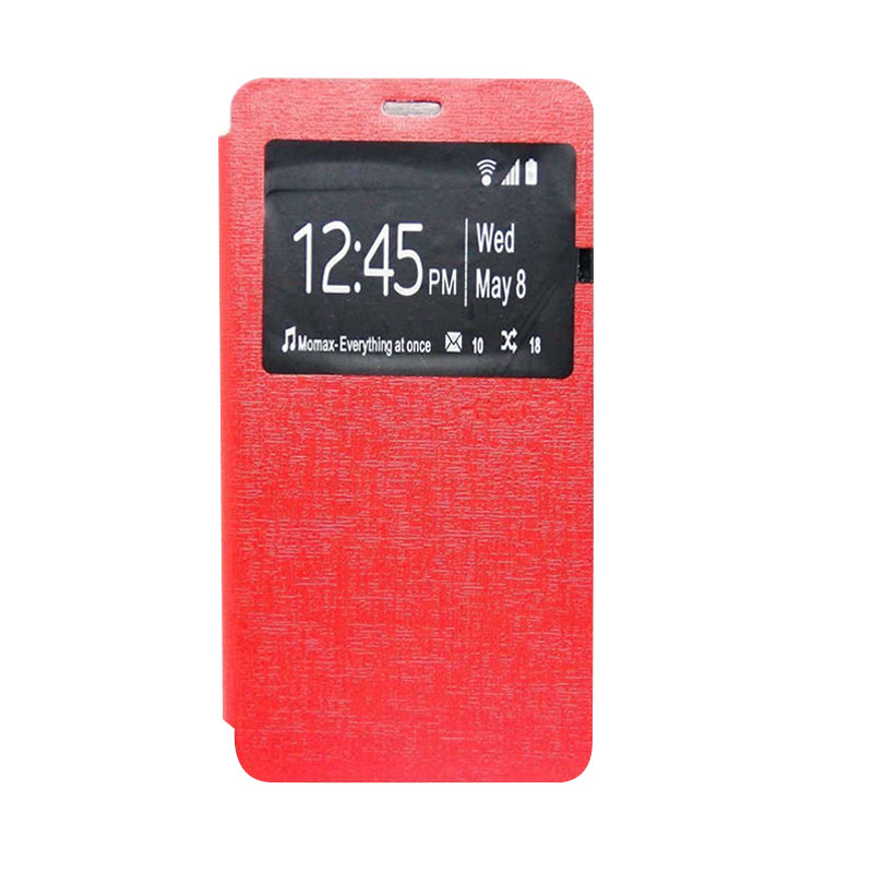 Ume Flip Cover Casing for Asus Zenfone 2 5 inch - Merah