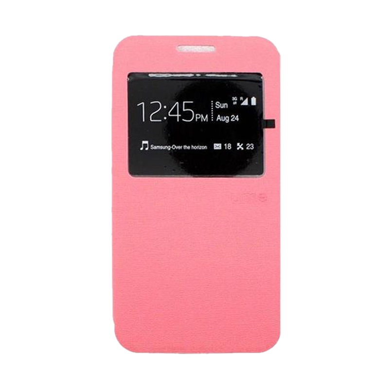 Ume Flipcover Casing for Asus Zenfone 2 [5 Inch] - Pink