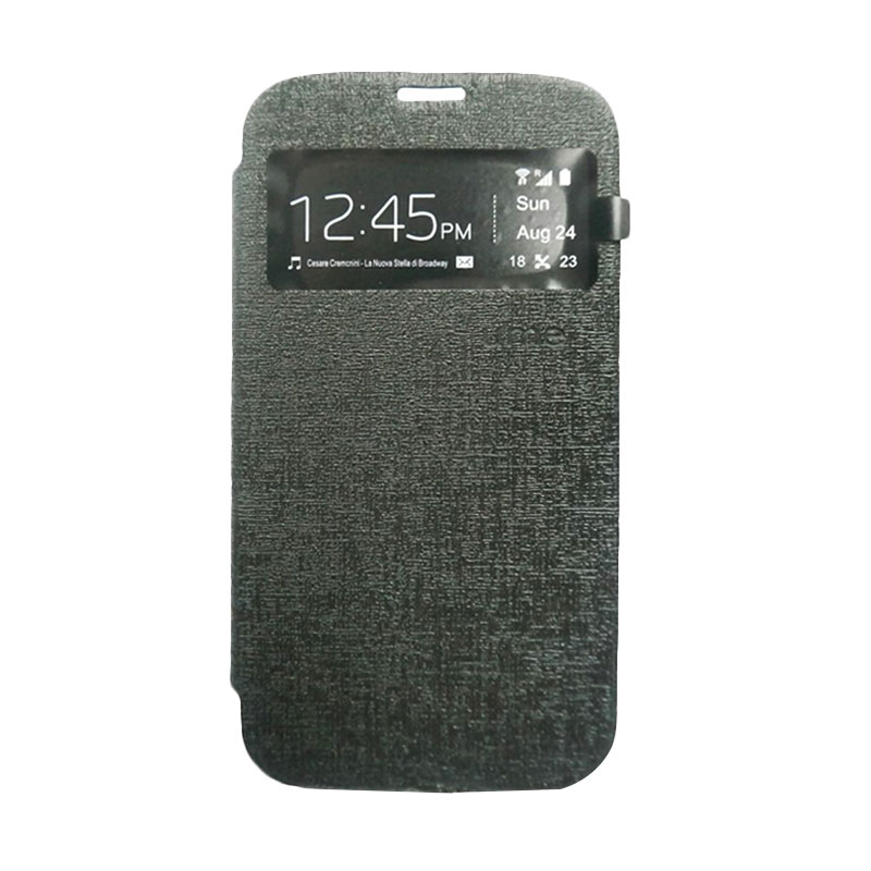 Ume Flip Cover Casing for Asus Zenfone 4 - Hitam