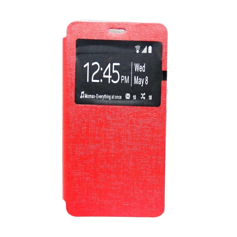 Ume Flip Cover Casing for Asus Zenfone 4 - Merah