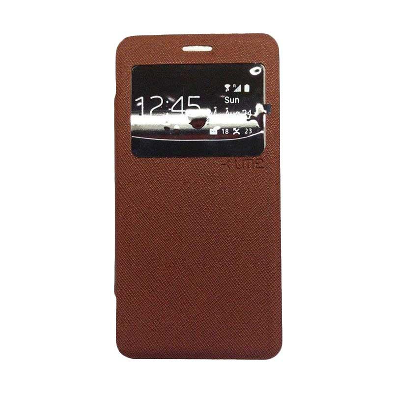 Ume Flip Cover Casing for Asus Zenfone 6 - Coklat