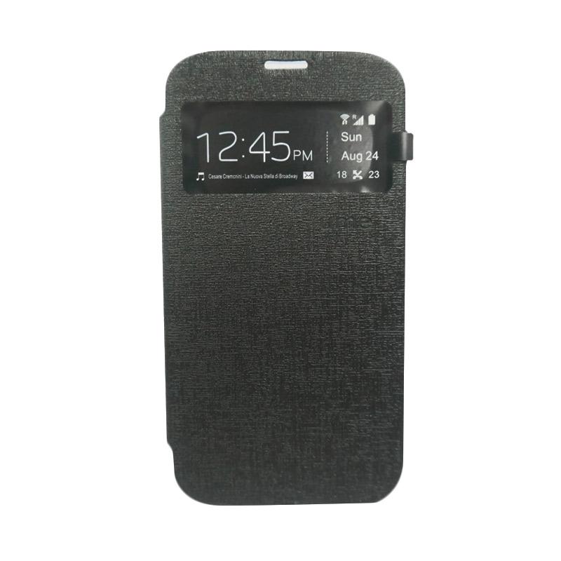 Ume Flip Cover Casing for Asus Zenfone 6 - Hitam