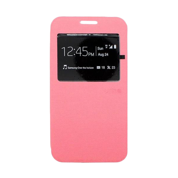 Ume Flip Cover Casing for Asus Zenfone 6 - Pink