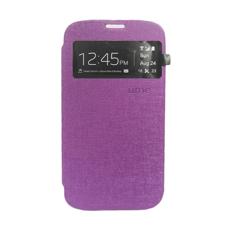 Ume Flip Cover Casing for Asus Zenfone 6 - Ungu