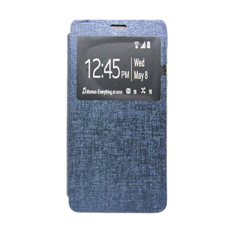 Ume Flip Cover Casing for Samsung Galaxy J1 Ace - Biru