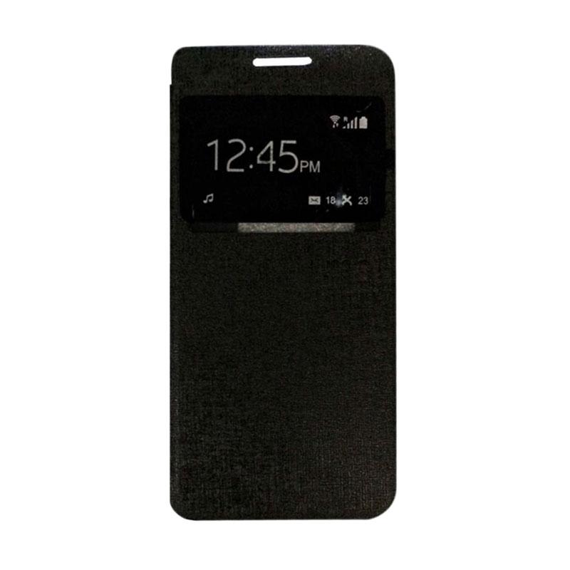 harga Ume Flip Cover Casing for Samsung Galaxy J1 Mini 2016 Flipshell / Leather Case / Sarung HP / Sarung Handphone / View - Hitam Blibli.com