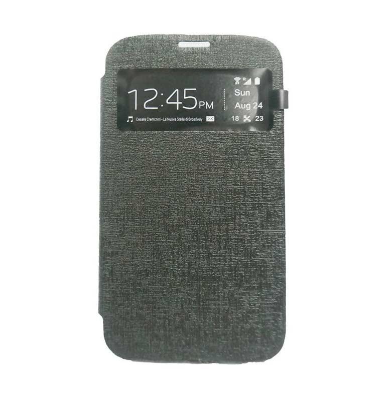 Ume Flip Cover Casing for Samsung Galaxy J7 - Hitam