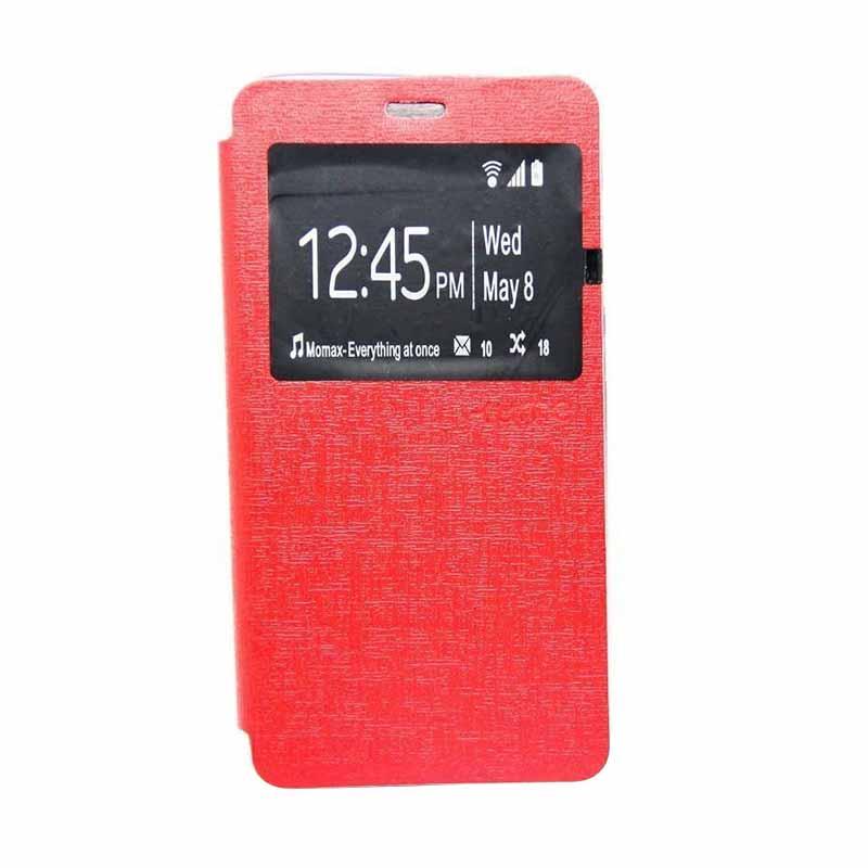 Ume Flip Cover Casing for Lenovo A7000 - Merah