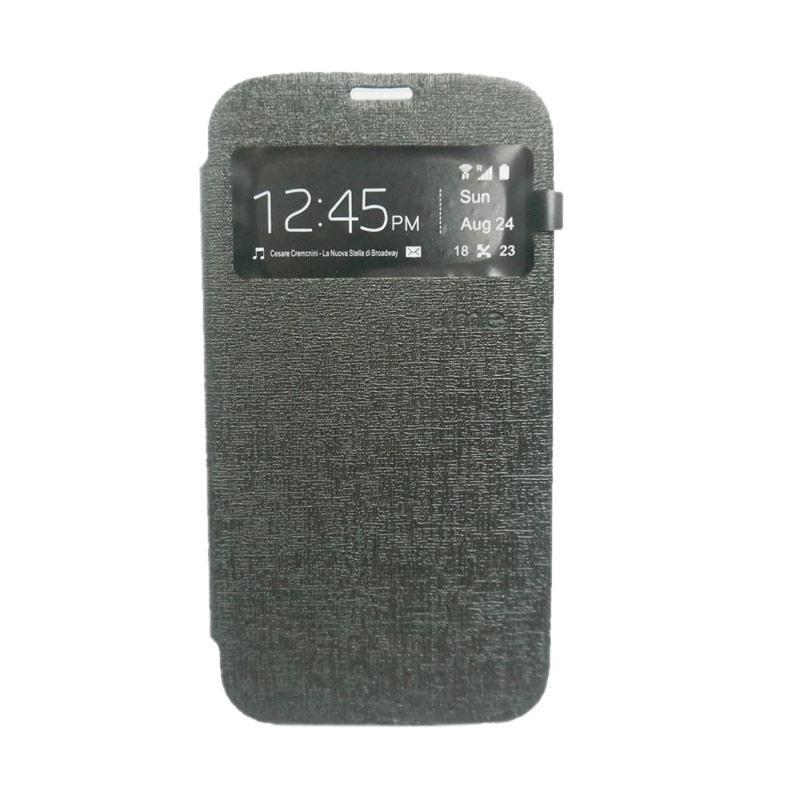 Ume Flip Cover Casing for Lenovo A7010 - Hitam