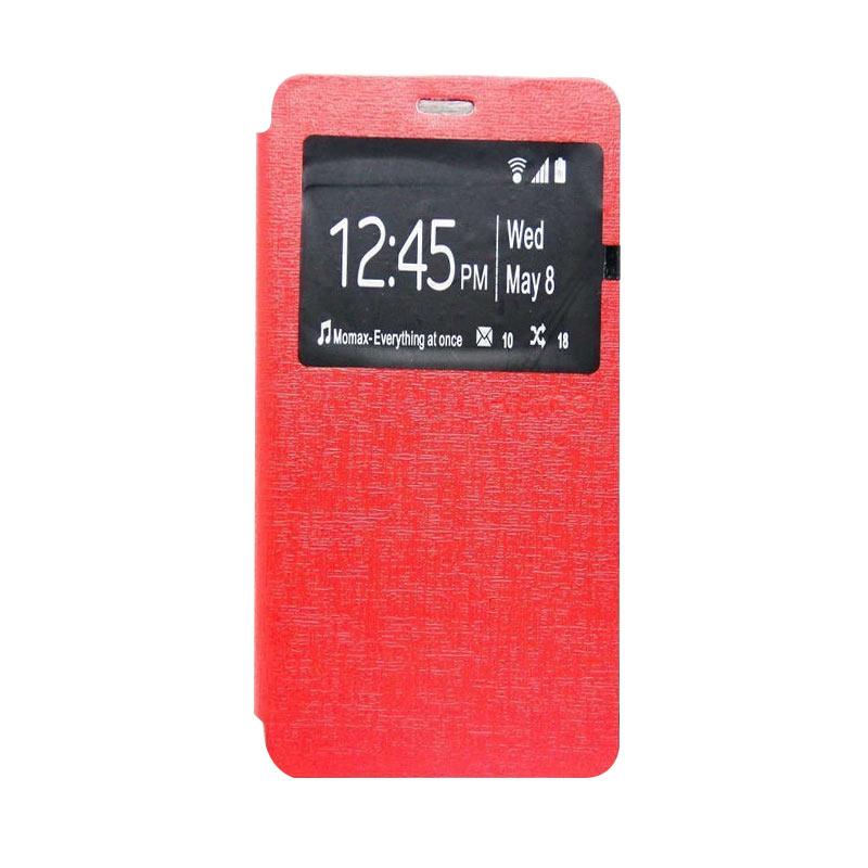 Ume Flipcover Casing for Lenovo A7010 - Merah
