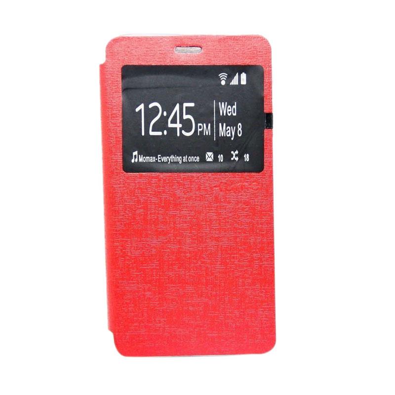 Ume Flip Cover Casing for Lenovo A7010 - Merah