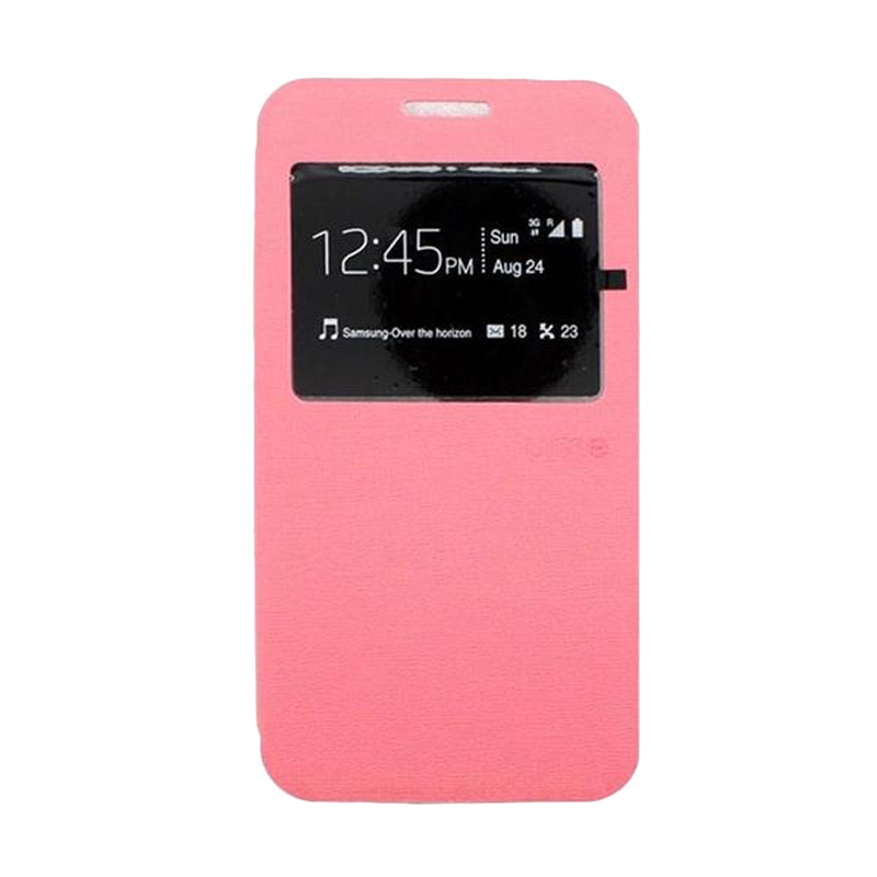Ume Flipcover Casing for Lenovo A7010 - Pink