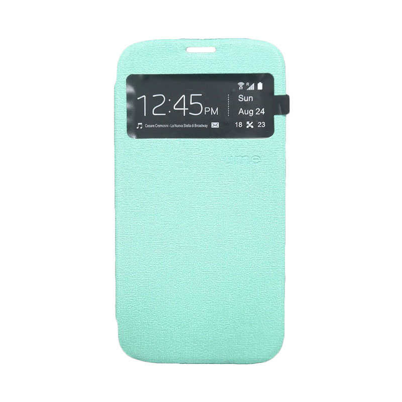 Ume Flip Cover Casing for Samsung A310 - Hijau
