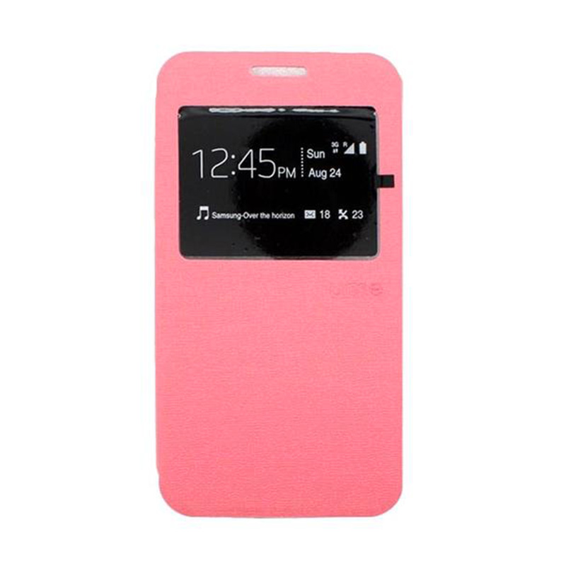 Ume Flip Cover Casing for Samsung A310 - Pink