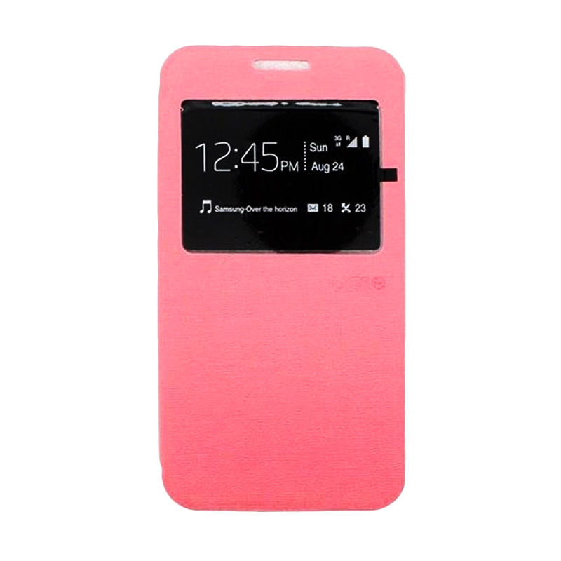 Ume Flip Cover Casing for Samsung A710 - Pink