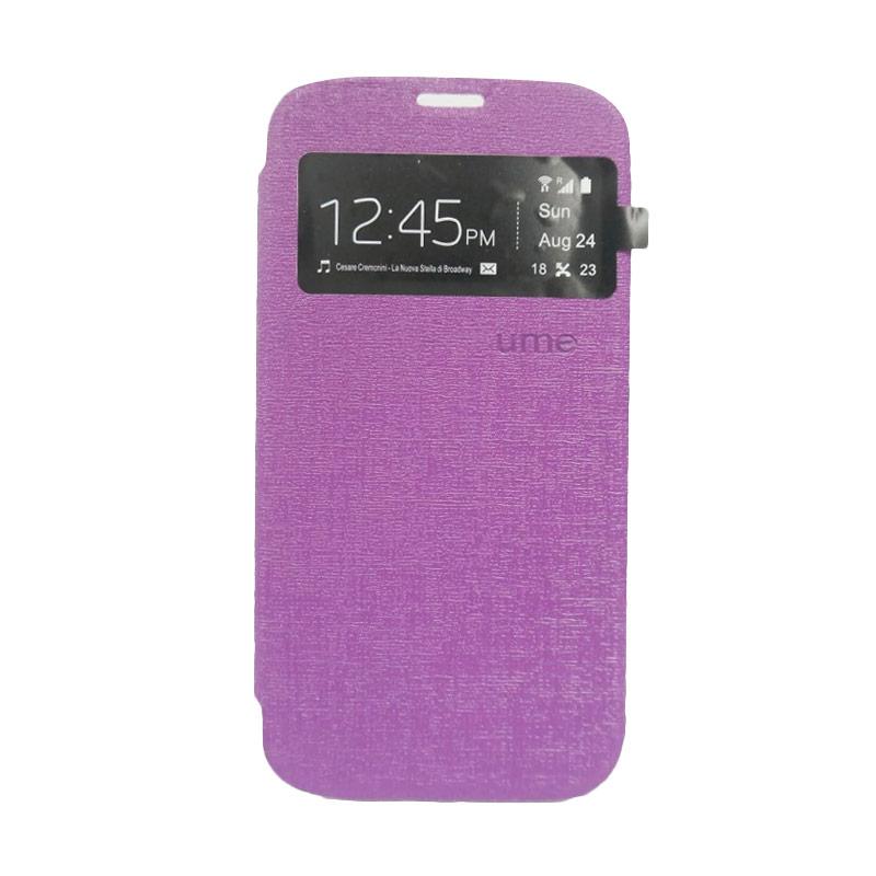 Ume Flip Cover Casing for Samsung Galaxy A5 - Ungu