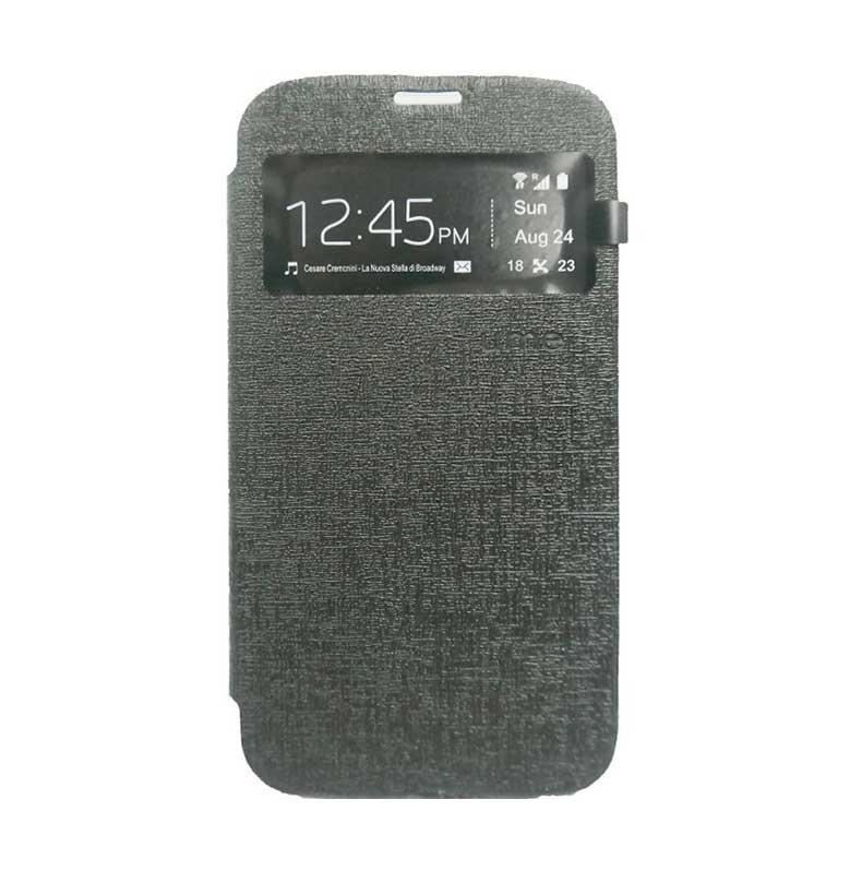 Ume Flip Cover Casing for Samsung Galaxy A7 - Hitam