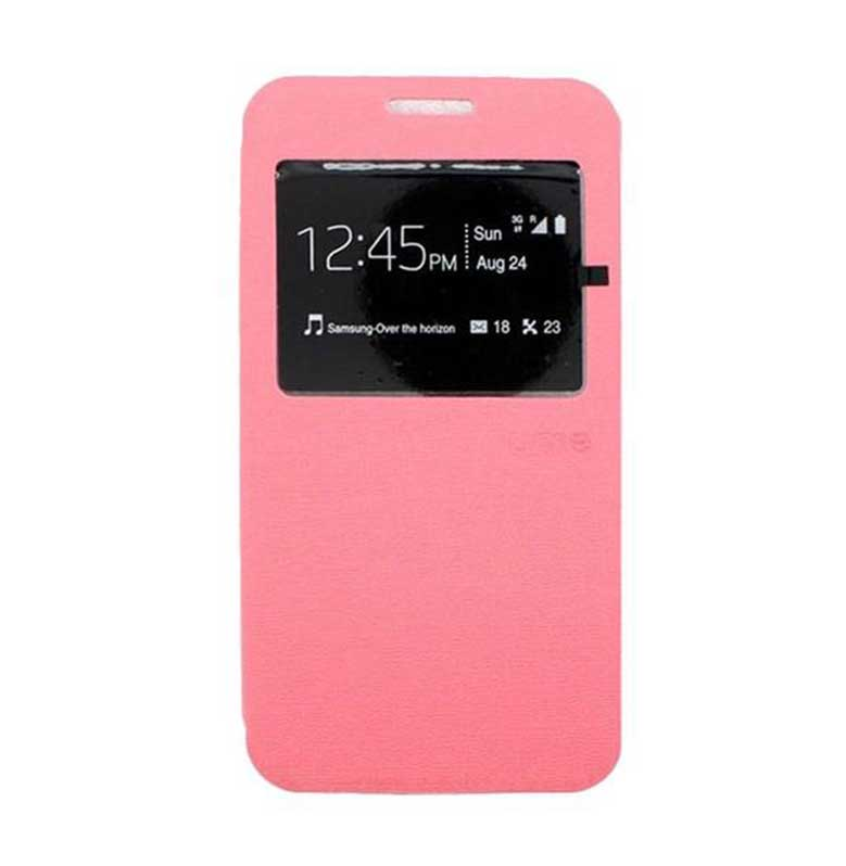 Ume Flip Cover Casing for Samsung Galaxy A7 - Pink