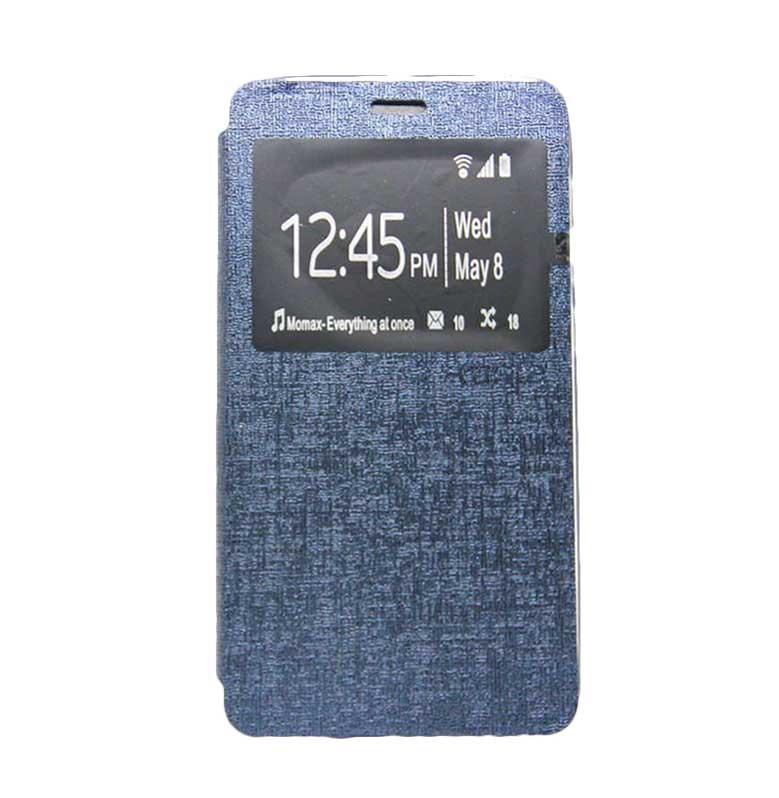 Ume Flip Cover Casing for Samsung Galaxy E5 - Biru