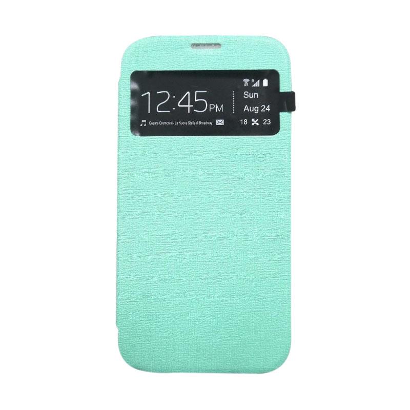 Ume Flip Cover Casing for Samsung Galaxy E5 - Hijau