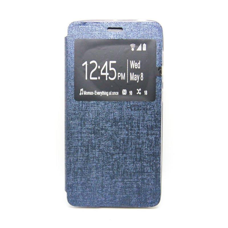 Ume Flip Cover Casing for Samsung Galaxy E7 - Biru