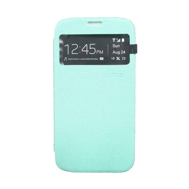 Ume Flip Cover Casing for Samsung Galaxy E7 - Hijau