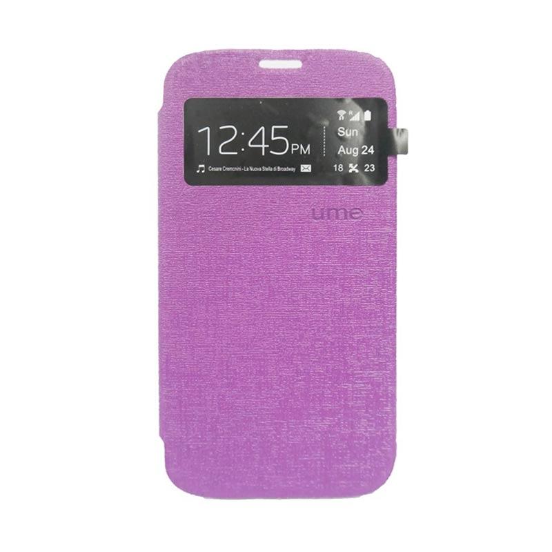 Ume Flip Cover Casing for Samsung Galaxy E7 - Ungu