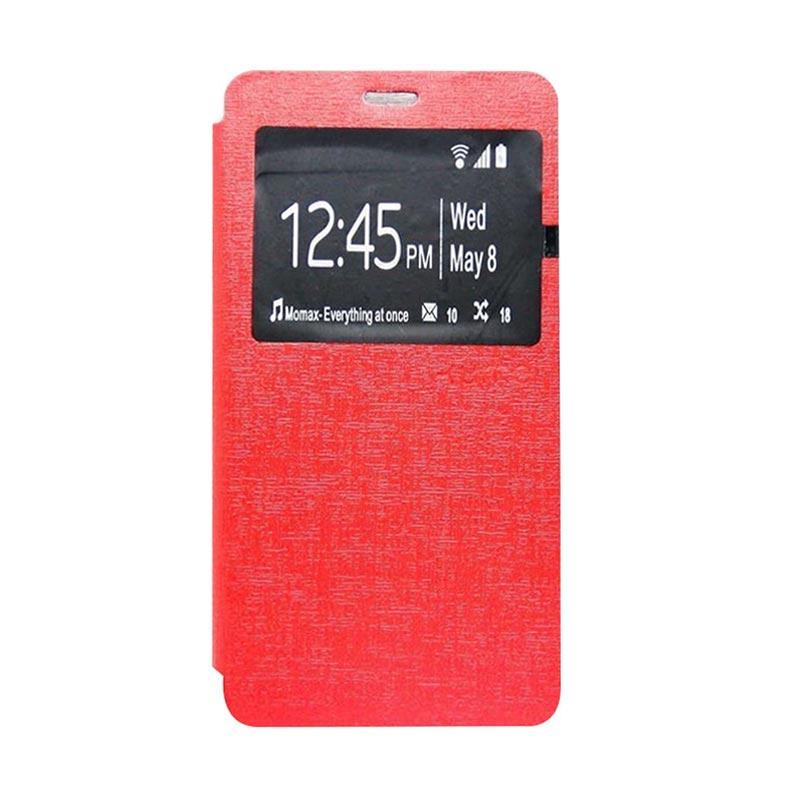 Ume Flip Cover Casing for Samsung Galaxy J1 - Merah