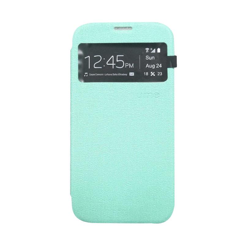 Ume Flip Cover Casing for Samsung Galaxy J1 Ace - Hijau