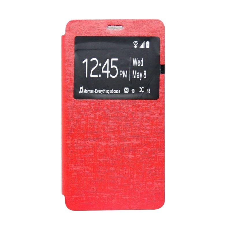 Ume Flip Cover Casing for Samsung Galaxy J5 - Merah