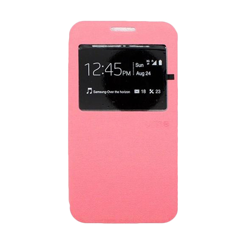 Ume Flip Cover Casing for Samsung Galaxy J7 - Pink