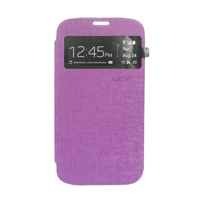 Ume Flip Cover Casing for Samsung Galaxy J7 - Ungu