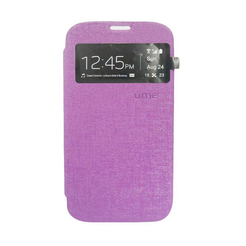 Ume Flip Cover Casing for Samsung Galaxy S6 - Ungu