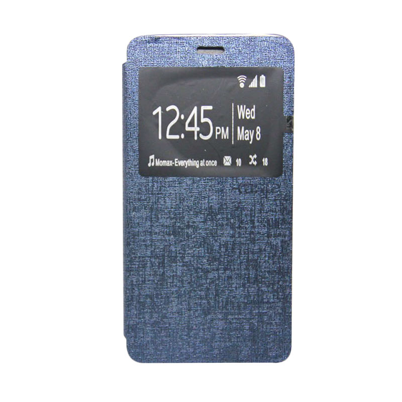 Ume Flip Cover Casing for Xiaomi Redmi Note - Biru