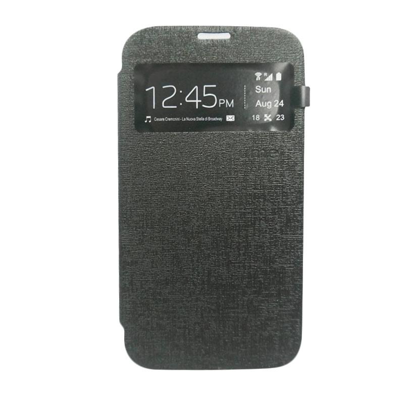 Ume Flip Cover Casing for Xiaomi Redmi Note - Hitam