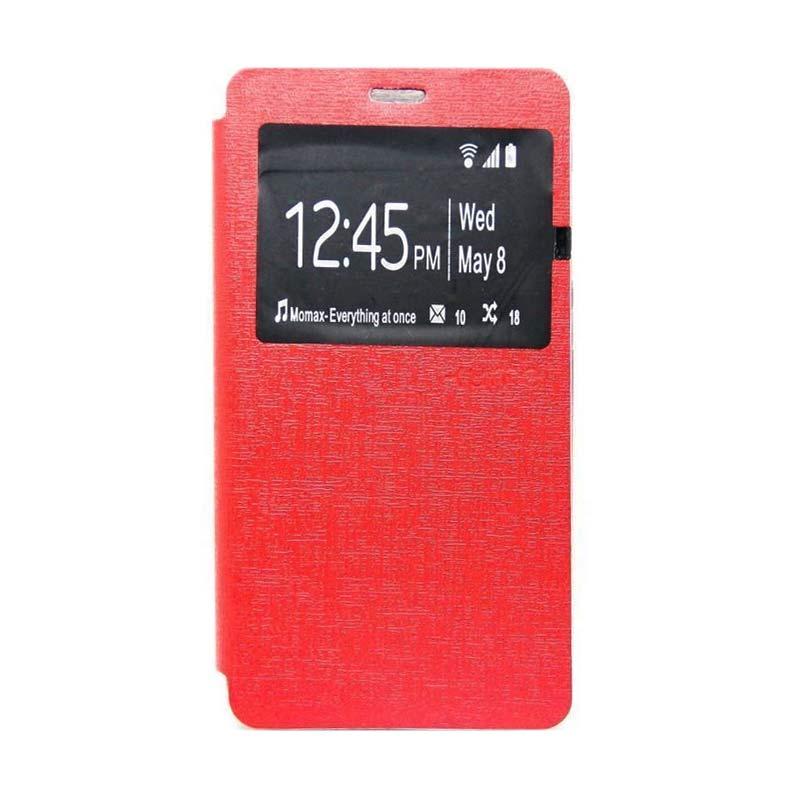 Ume Flip Cover Casing for Xiaomi Redmi Note 3 - Merah