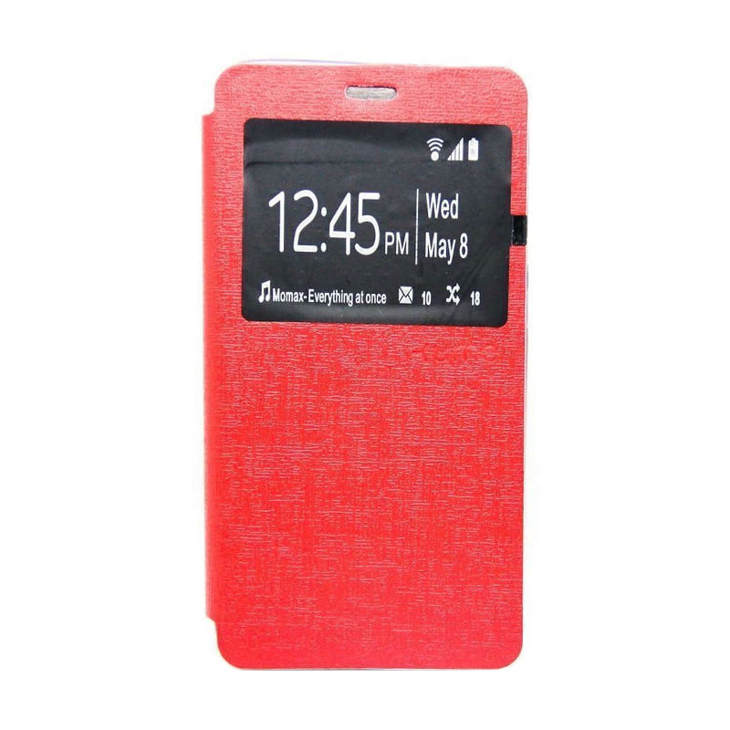 Ume Flipcover Casing for Samsung Galaxy E5 - Merah
