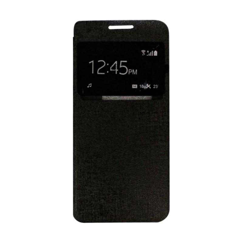 harga Ume Flipcover Casing for Samsung Galaxy J3 2016 - Hitam Blibli.com