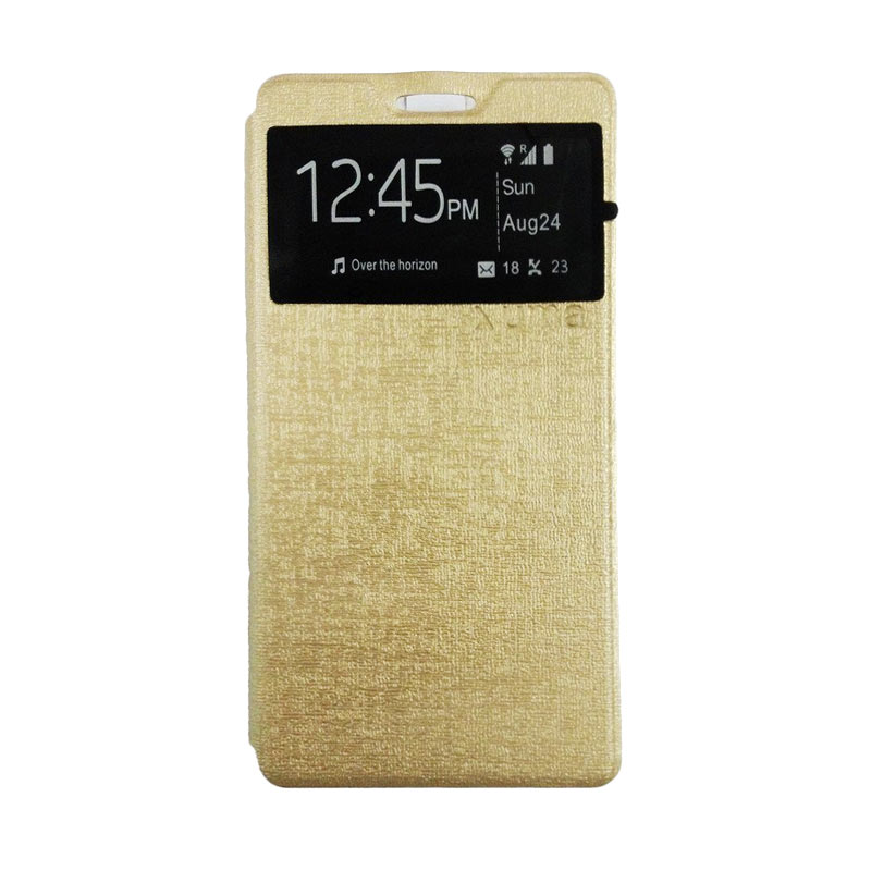 harga Ume Gold Flip Cover Casing for Xiaomi Redmi MI 4i Blibli.com