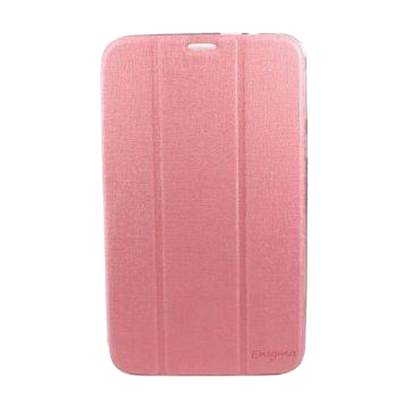 harga Ume Leather Flip Cover Casing for Asus Fonepad 8 FE380CG - Pink Blibli.com