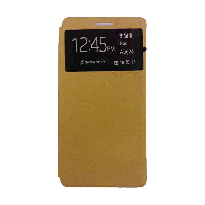 UME USA Coklat Flipcover for Samsung Galaxy J5