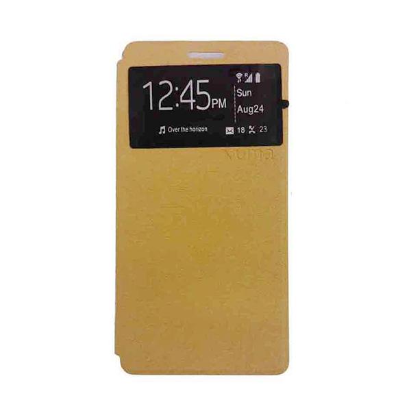 UME USA Coklat Flipcover Samsung Galaxy Core 2 G355H
