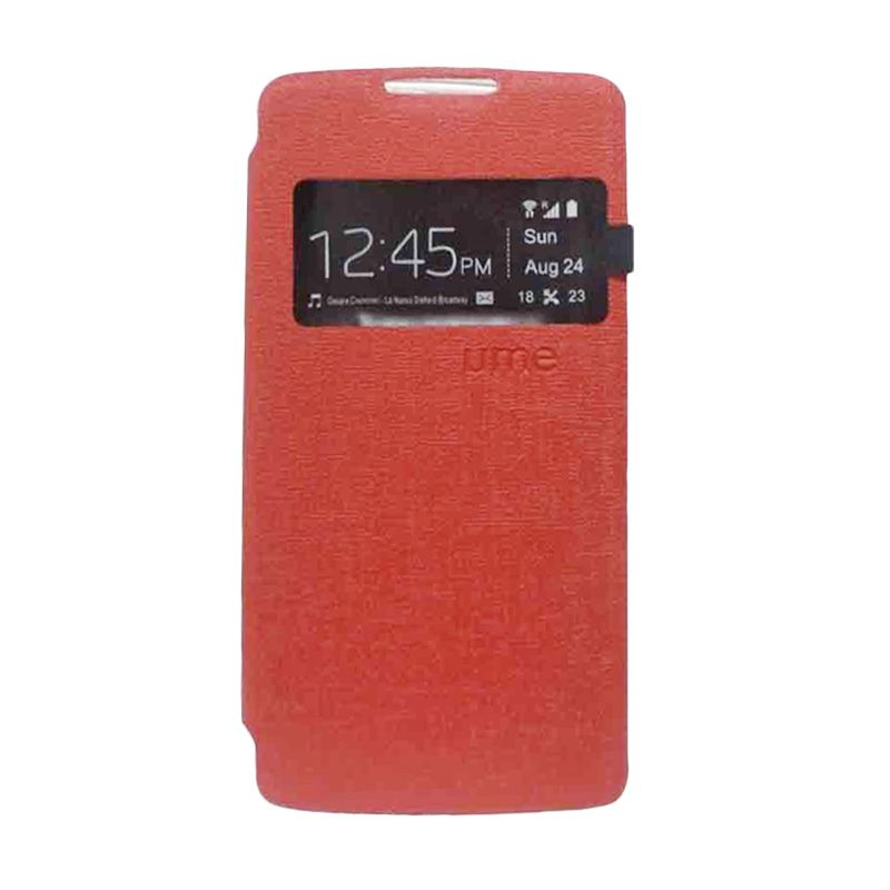 UME USA Flip Cover Casing for Lenovo P70 - Merah